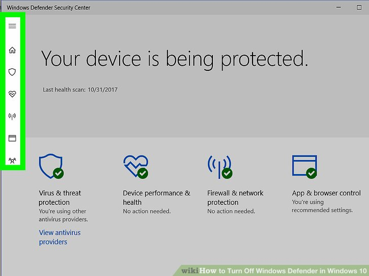3 cách tắt Windows Defender trên Windows 10 6