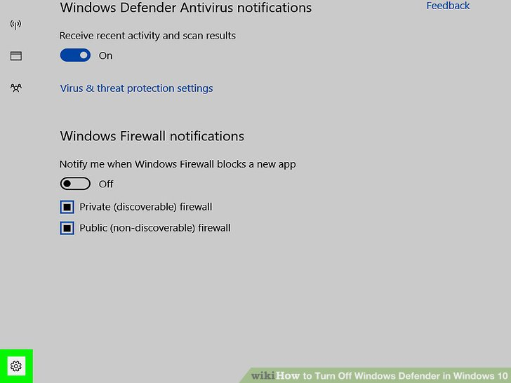 3 cách tắt Windows Defender trên Windows 10 7
