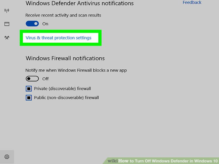 3 cách tắt Windows Defender trên Windows 10 9