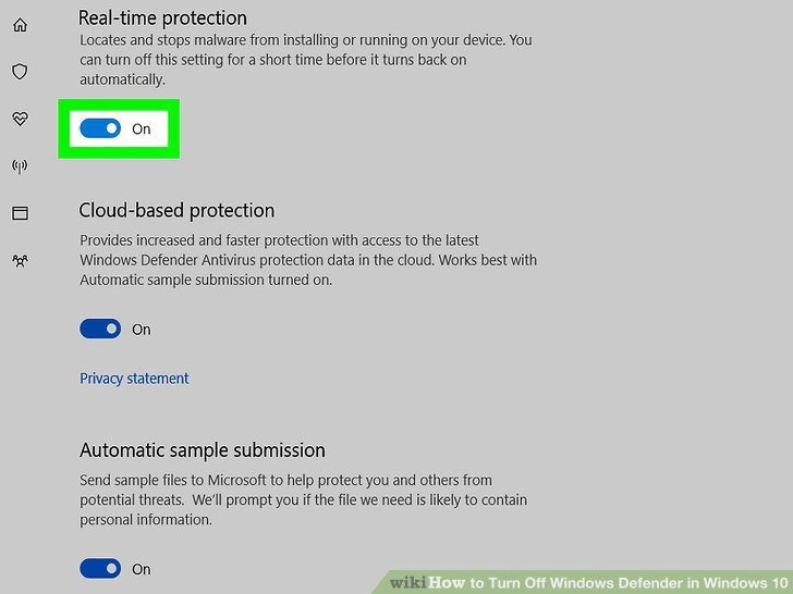 3 cách tắt Windows Defender trên Windows 10 10
