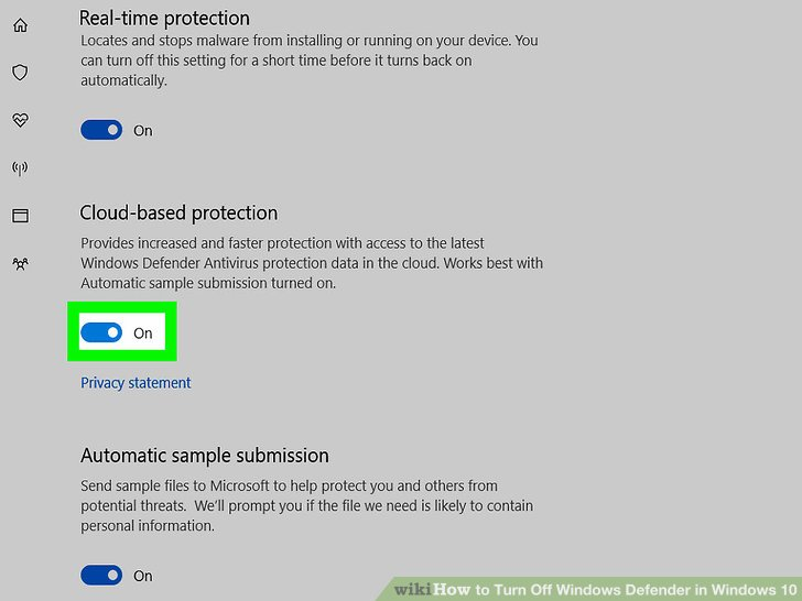3 cách tắt Windows Defender trên Windows 10 12