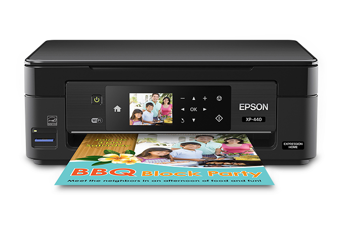 Máy in nhỏ gọn Epson Expression Home XP-440