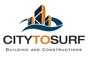 Logo công ty xây dựng City to surf Building