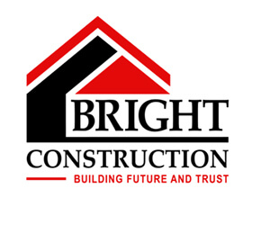 Logo công ty xây dựng Bright Construction