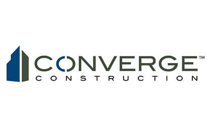 Logo công ty xây dựng Converge Construction