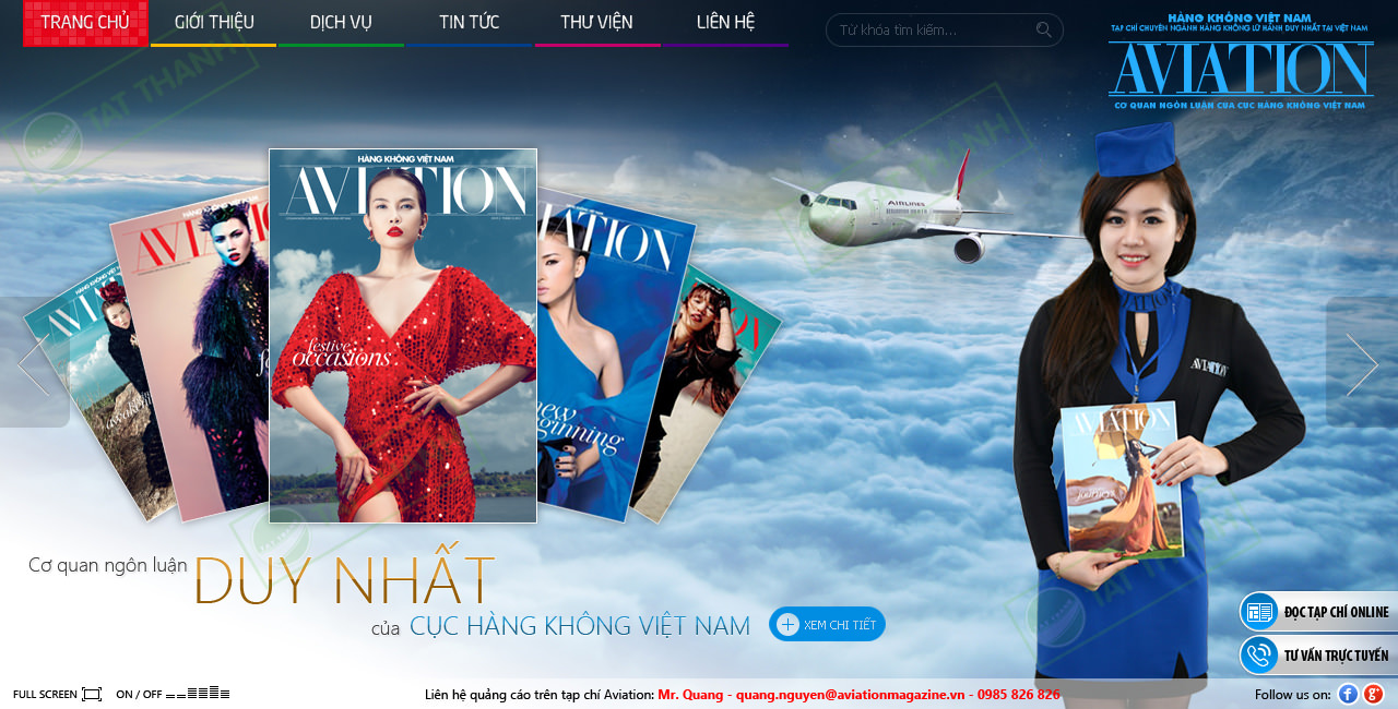 Thiết kế website cao cấp 2