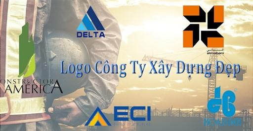 Logo công ty xây dựng đẹp