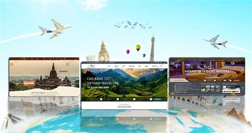 Các phong cách thiết kế website du lịch