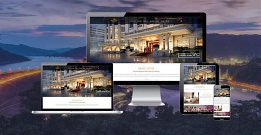 Thiết kế Website Khách Sạn Chuyên nghiệp & Đẳng cấp