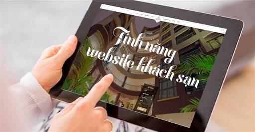 Tính năng website khách sạn