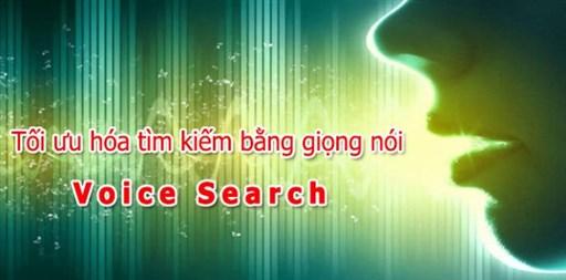 Tối ưu tìm kiếm bằng giọng nói Voice Search