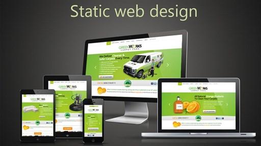 Trang web tĩnh là gì? Phân biệt Web tĩnh và Web động.